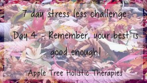 7 day stress less challenge day 4